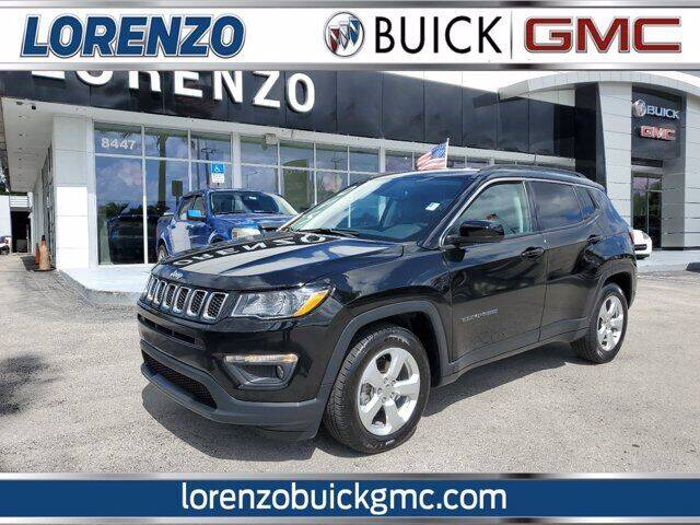 2019 Jeep Compass for sale at Lorenzo Buick GMC in Miami FL