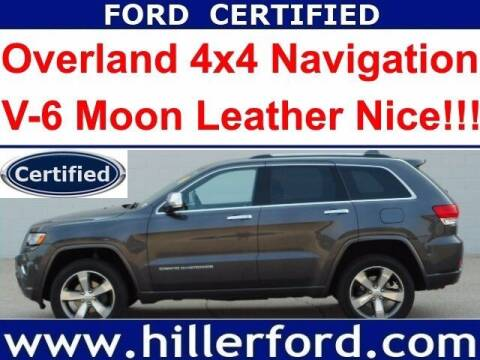 2016 Jeep Grand Cherokee for sale at HILLER FORD INC in Franklin WI