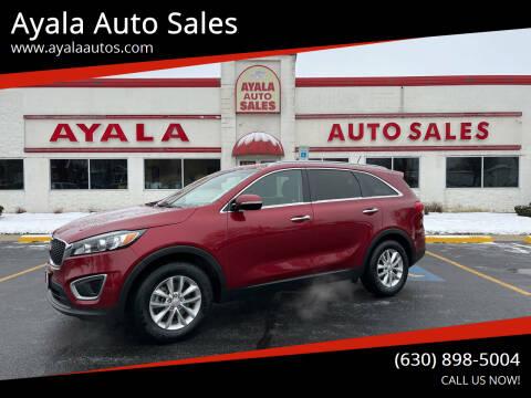2016 Kia Sorento for sale at Ayala Auto Sales in Aurora IL