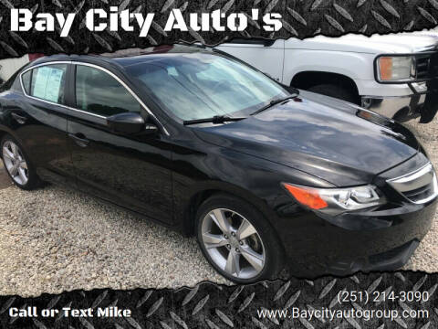 2013 Acura ILX for sale at Bay City Auto's in Mobile AL