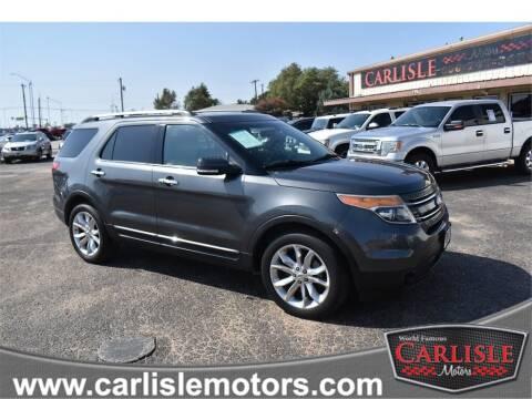 2015 Ford Explorer for sale at Carlisle Motors in Lubbock TX
