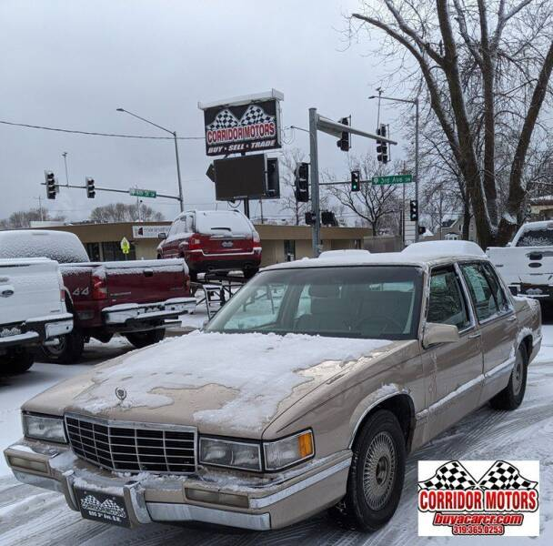 1993 Cadillac DeVille for sale at Corridor Motors in Cedar Rapids IA