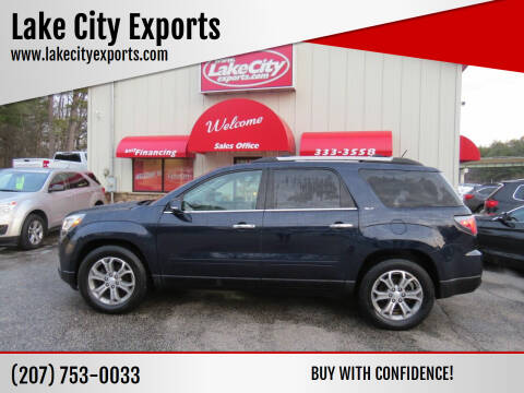 2015 GMC Acadia for sale at Lake City Exports in Auburn ME