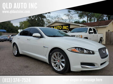 2015 Jaguar XF for sale at QLD AUTO INC in Tampa FL