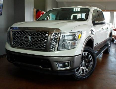 2017 Nissan Titan for sale at Motion Auto Sport in North Canton OH