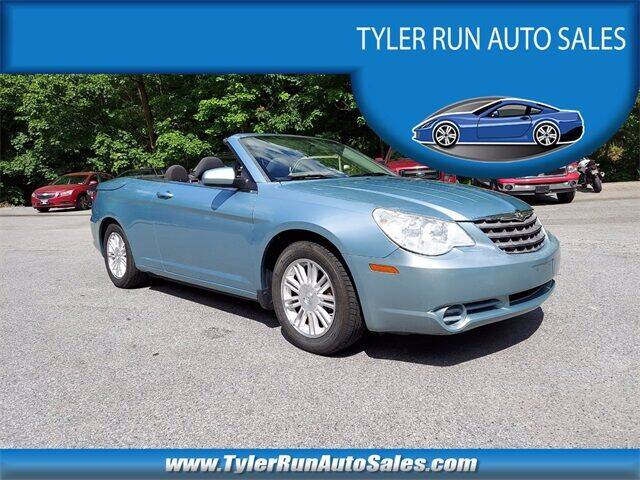 2009 Chrysler Sebring for sale at Tyler Run Auto Sales in York PA