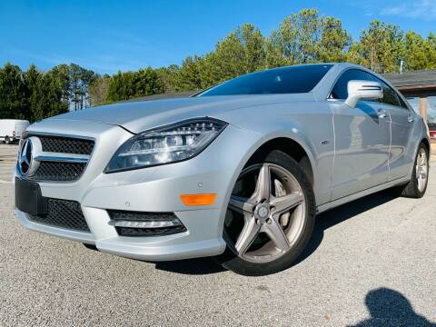 2012 Mercedes-Benz CLS for sale at Classic Luxury Motors in Buford GA
