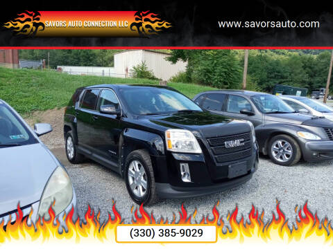 2012 GMC Terrain for sale at SAVORS AUTO CONNECTION LLC in East Liverpool OH