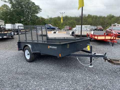 2022 Belmont 6x10 Solid Side Utility