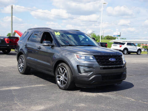 2016 Ford Explorer for sale at FOWLERVILLE FORD in Fowlerville MI