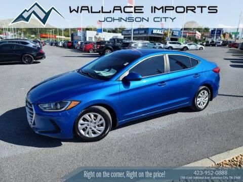 2018 Hyundai Elantra for sale at WALLACE IMPORTS OF JOHNSON CITY in Johnson City TN