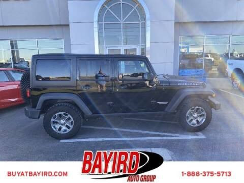 2015 Jeep Wrangler Unlimited for sale at Bayird Truck Center in Paragould AR