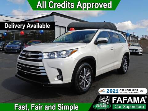 2018 Toyota Highlander for sale at FAFAMA AUTO SALES Inc in Milford MA