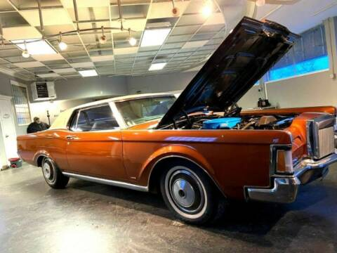 1970 Lincoln Continental for sale at Classic Car Deals in Cadillac MI