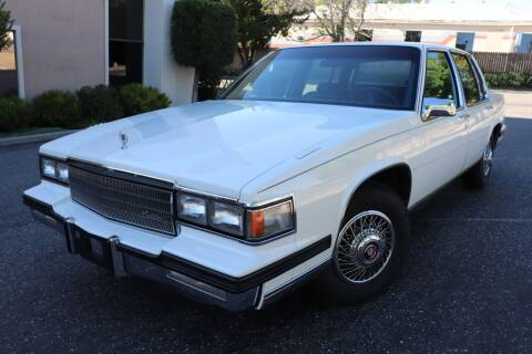 1985 Cadillac DeVille for sale at California Auto Sales in Auburn CA