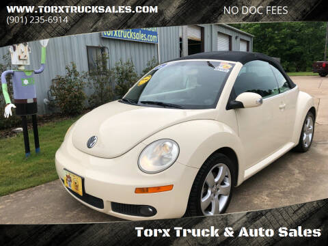 2006 Volkswagen New Beetle Convertible for sale at Torx Truck & Auto Sales in Eads TN