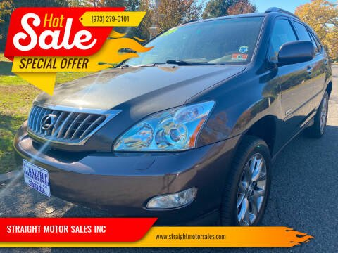 2009 Lexus RX 350 for sale at STRAIGHT MOTOR SALES INC in Paterson NJ