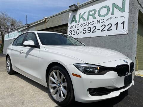 2015 BMW 3 Series for sale at Akron Motorcars Inc. in Akron OH