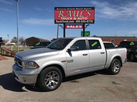 2016 RAM Ram Pickup 1500 for sale at RAUL'S TRUCK & AUTO SALES, INC in Oklahoma City OK