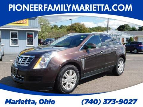 2016 Cadillac SRX for sale at Pioneer Family auto in Marietta OH