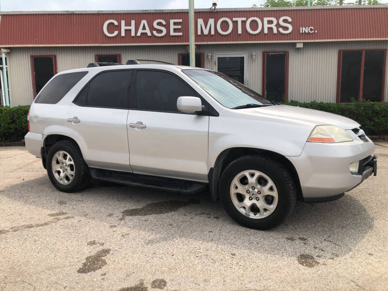 2002 Acura MDX for sale at Chase Motors Inc in Stafford TX