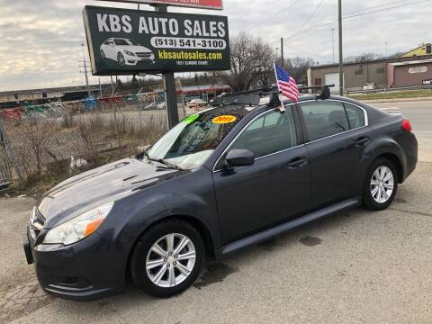 2011 Subaru Legacy for sale at KBS Auto Sales in Cincinnati OH