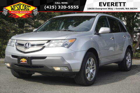 2007 Acura MDX for sale at West Coast Auto Works in Edmonds WA