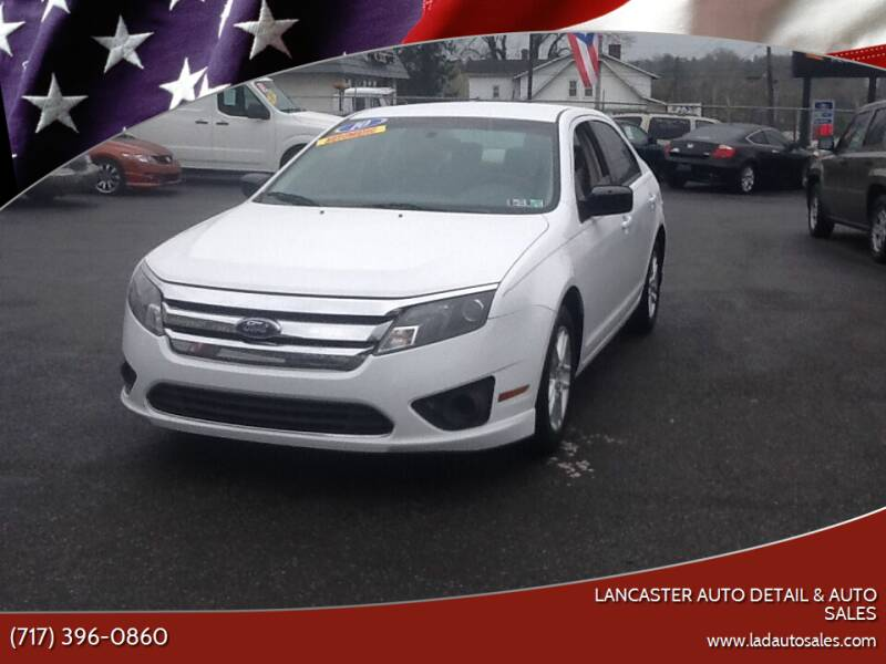 2010 Ford Fusion for sale at Lancaster Auto Detail & Auto Sales in Lancaster PA