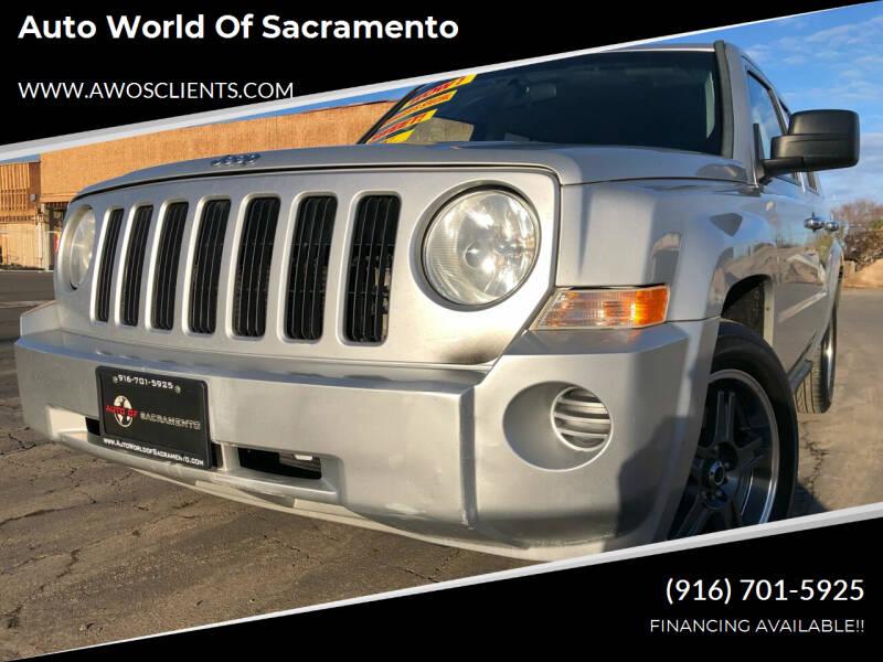 2010 Jeep Patriot for sale at Auto World of Sacramento Stockton Blvd in Sacramento CA
