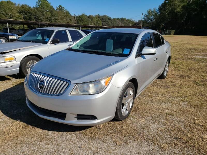 2010 Buick LaCrosse for sale at Mott's Inc Auto in Live Oak FL
