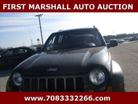 2005 Jeep Liberty for sale at First Marshall Auto Auction in Harvey IL