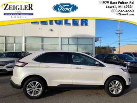 2015 Ford Edge for sale at Zeigler Ford of Plainwell- michael davis in Plainwell MI