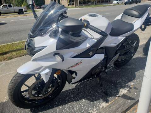 2018 Suzuki gsxr250r for sale at ANYTHING ON WHEELS INC in Deland FL