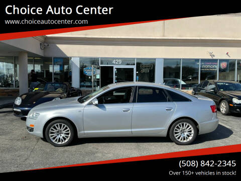 2006 Audi A6 for sale at Choice Auto Center in Shrewsbury MA