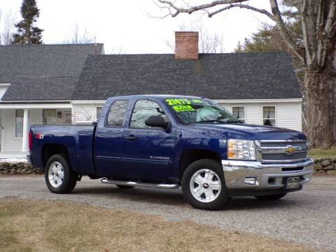 2013 Chevrolet Silverado 1500 for sale at The Auto Barn in Berwick ME