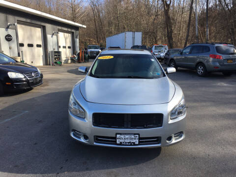 2014 Nissan Maxima for sale at Mikes Auto Center INC. in Poughkeepsie NY