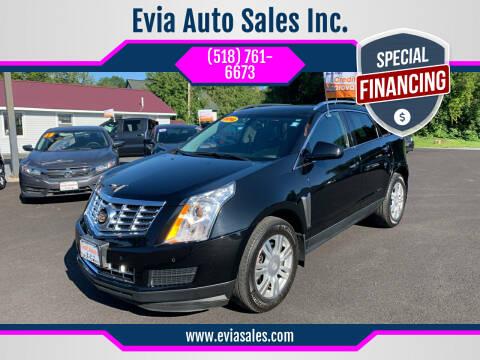 2014 Cadillac SRX for sale at Evia Auto Sales Inc. in Glens Falls NY