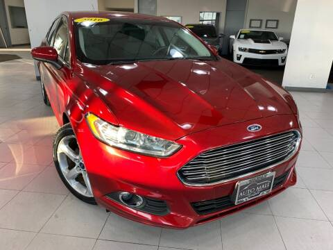2016 Ford Fusion for sale at Auto Mall of Springfield north in Springfield IL