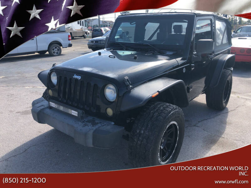 2008 Jeep Wrangler for sale at Outdoor Recreation World Inc. in Panama City FL