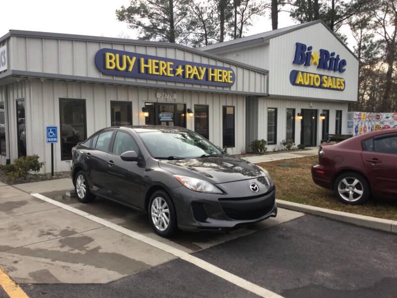 2012 Mazda MAZDA3 for sale at Bi Rite Auto Sales in Seaford DE