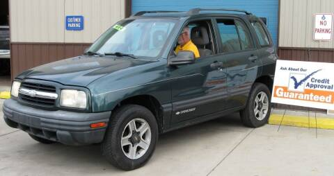 2002 Chevrolet Tracker for sale at Mountain State Preowned Auto Sales LLC in Martinsburg WV