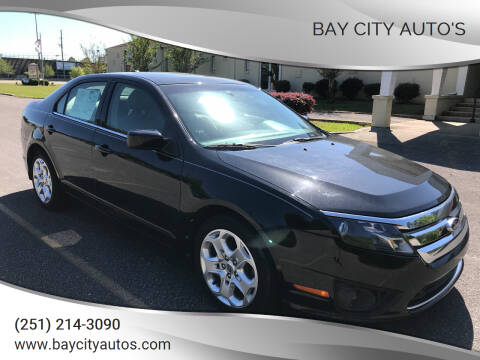 2011 Ford Fusion for sale at Bay City Auto's in Mobile AL