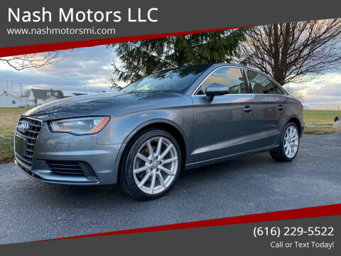 2015 Audi A3 for sale at Nash Motors LLC in Hudsonville MI