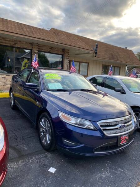 2011 Ford Taurus for sale at Zs Auto Sales in Kenosha WI