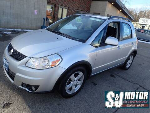 2012 Suzuki SX4 Crossover for sale at S & J Motor Co Inc. in Merrimack NH