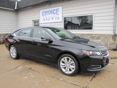 2017 Chevrolet Impala for sale at Choice Auto in Carroll IA