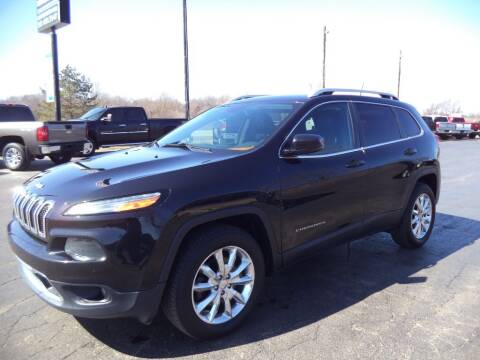 2016 Jeep Cherokee for sale at Hawkins Motors Sales - Lot 1 in Hillside MI