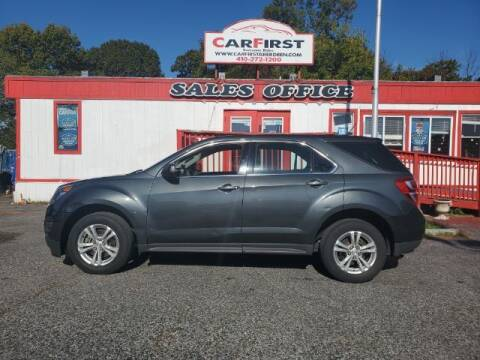 2017 Chevrolet Equinox for sale at CARFIRST ABERDEEN in Aberdeen MD