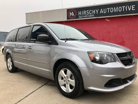 2015 Dodge Grand Caravan for sale at Hirschy Automotive in Fort Wayne IN