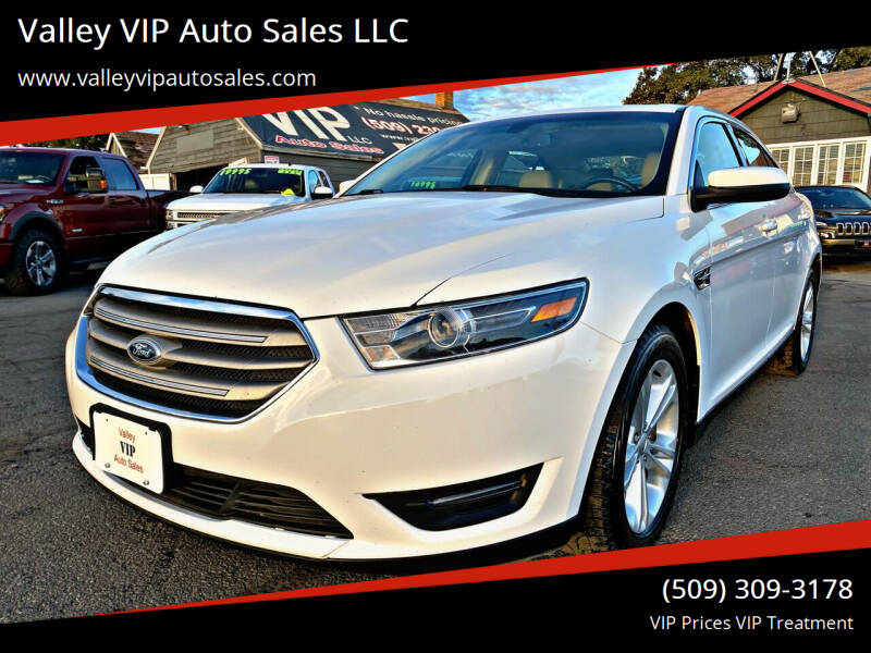 2015 Ford Taurus for sale at Valley VIP Auto Sales LLC in Spokane Valley WA